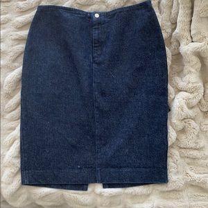Ralph Lauren Jean skirt size 6